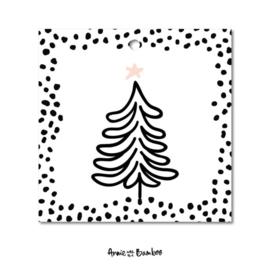 Cadeaulabel - Kerstboom