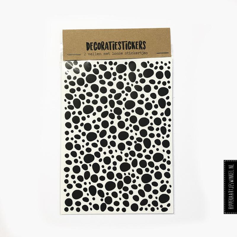 Stickers dots - 2 vellen