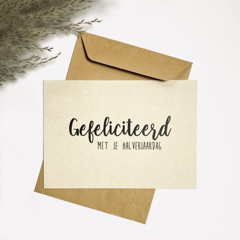 Gefeliciteerd met je halverjaardag