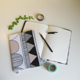 Barabrenda | Notitieboekje zwart/ wit &roze