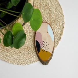 Barabrenda | Houten decoratie vlekje