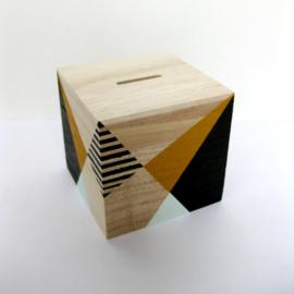 Barabrenda | Spaarpot geometrisch mint