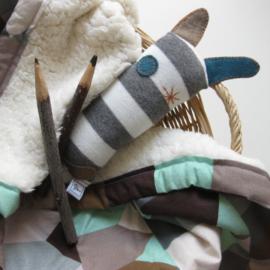 Barabrenda | Babydeken huisjes