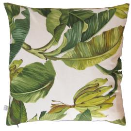 Kussenhoes botanisch banaan 40x40