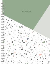 Notebook Terrazzo lijnen
