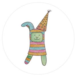 Barabrenda | Stickers Coco het Konijn 6 stuks