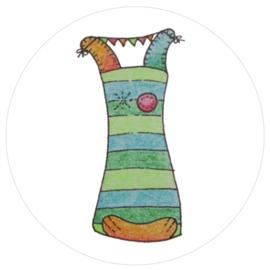 Barabrenda | Stickers Frummel het Fabeldier 6 stuks
