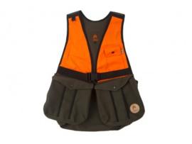 Jachtvest Firedog khaki/oranje