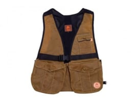 Dummyvest Firedog hunter air Waxed licht Bruin