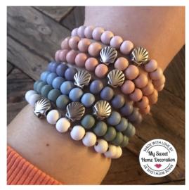 Armband Summer Shell - diverse kleuren