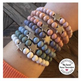 Armband Star fish - diverse kleuren
