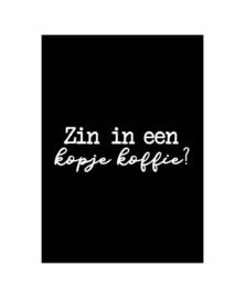 Wenskaart   Kopje koffie   KP026