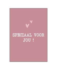 Wenskaart   Speciaal voor jou   KP018