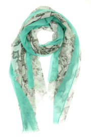 Sjaal Soft Snake | Mint