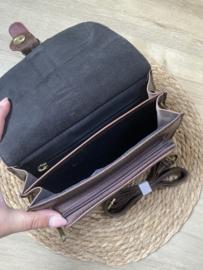 Saddle bag   Panter   Donkerbruin