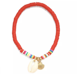 Armbandje | Celebrate Summer | Rood