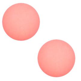 Slider Cabochon Polaris | Bol Matt Coral Pink