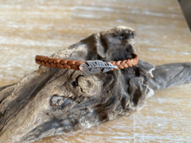 Lederen enkele armbanden 5 mm