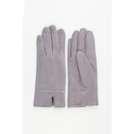 Handschoenen | Suèdelook | Grijs