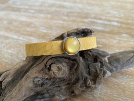 Armband 10mm | Cabochon | Geel