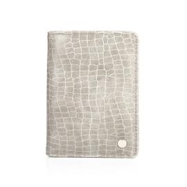 Paspoorthoes | Croco | Grijs