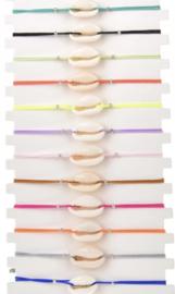 Arm- /enkelbandje Kaurischelp | Diverse kleuren