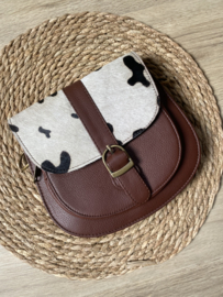 Saddle bag   Cow   Donkerbruin