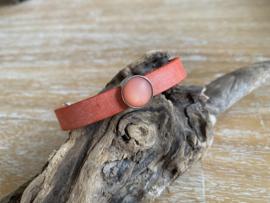 Lederen enkele armbanden 10 mm