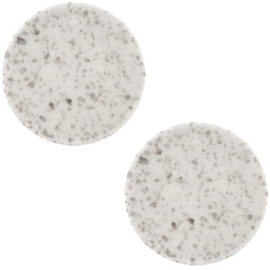Slider Cabochon Polaris | Plat Lava Light Grey