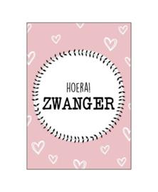 Wenskaart   Zwanger   KP002