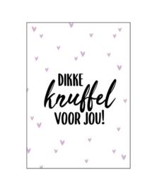 Wenskaart   Dikke knuffel   KP005