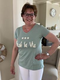 Shirt | C'est la Vie | Mint