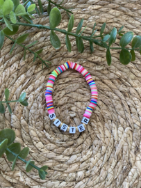 Armband | Sister | Multicolor