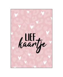 Wenskaart   Lief kaartje   KP004