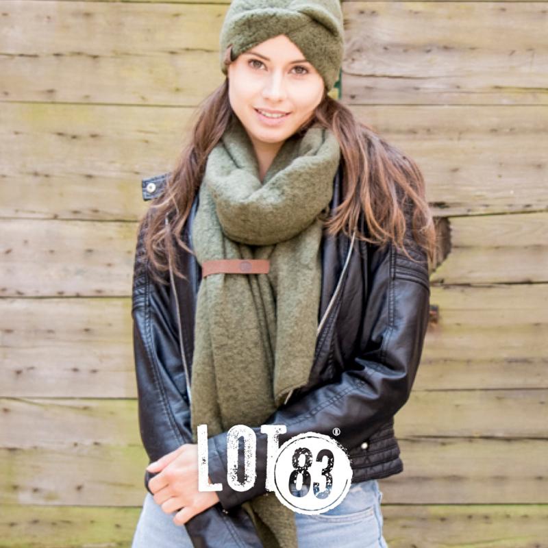 LOT83 | Haarband Pip | Olijf