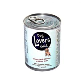 Doglovers Gold | Kip, Lam & Zalm | 800gr