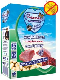 Renske | Gestoomde Versmaaltijd Kalkoen graanvrij | 395gr