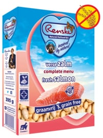 Renske | Gestoomde Versmaaltijd Zalm graanvrij | 395gr