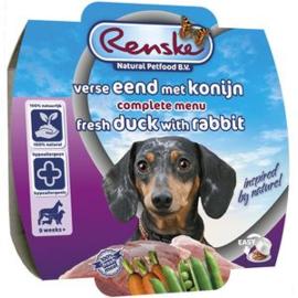 Renske | Gestoomde Versmaaltijd Eend & Konijn | 100gr