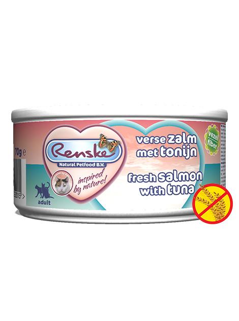 Renske | Vers Maaltijd Verse Tonijn - Zalm | 70gr