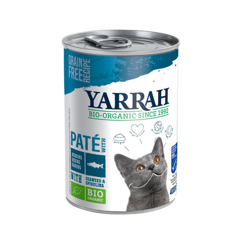 Yarrah | Biologische paté vis | Blik 400gr