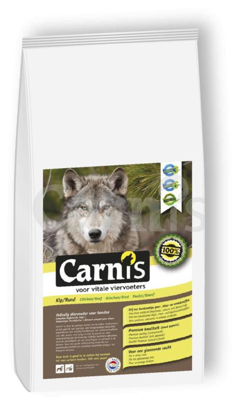 Carnis | Geperste brok hond Kip/Rund