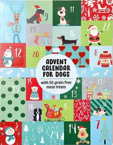 Adventkalender  voor de hond