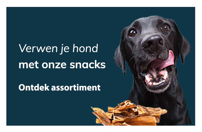 Blijepootjes dierenspeciaalzaak snacks hond