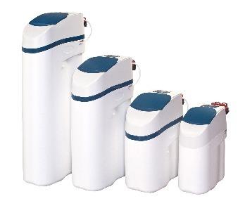 De aquastar waterontharders van groot naar klein