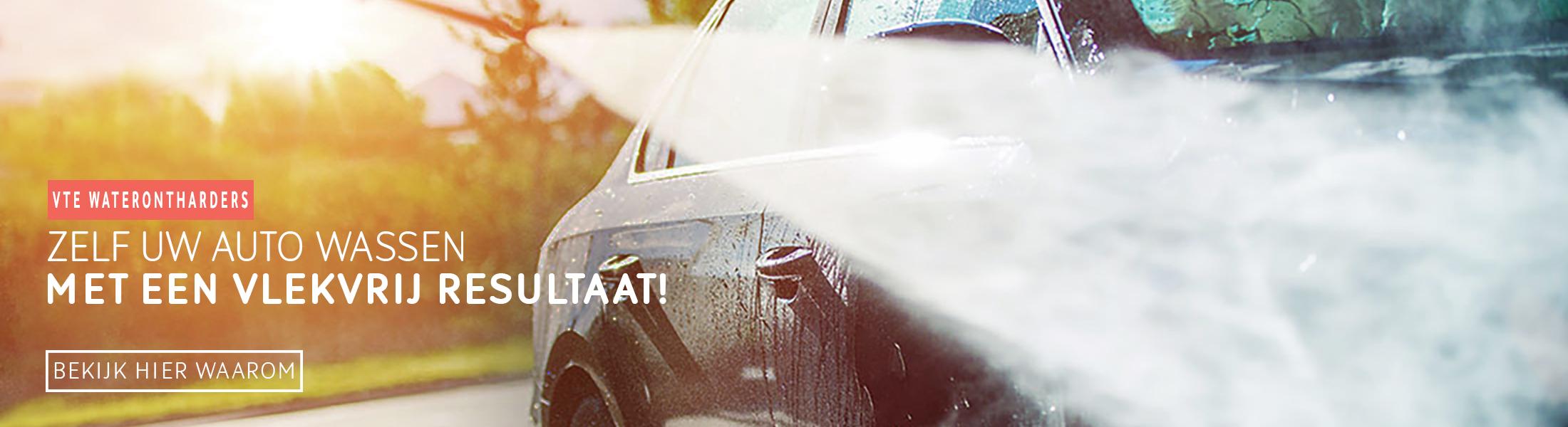 Kalkvrij uw auto wassen