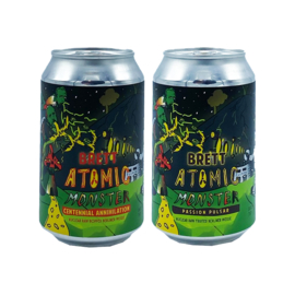Brouwerij Poesiat & Kater collab/ Eleven Brewery - Brett-Atomic Monster