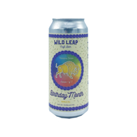 Wild Leap Brew Co. - Birthday Month: Triple IPA