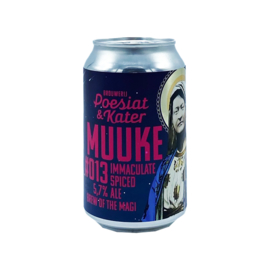 Brouwerij Poesiat & Kater -  Muuke 013: Brew of the Magi Immaculate Spiced Ale
