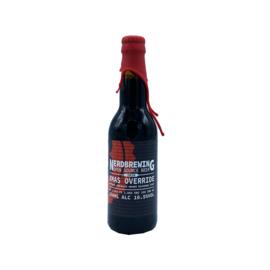 Nerdbrewing - Xmas Override Imperial Chocolate Orange Milkshake Stout (2020)